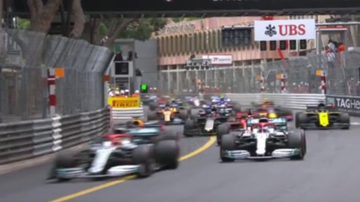 VIDEO: 'Neeooww Guy' returns in Monaco GP!