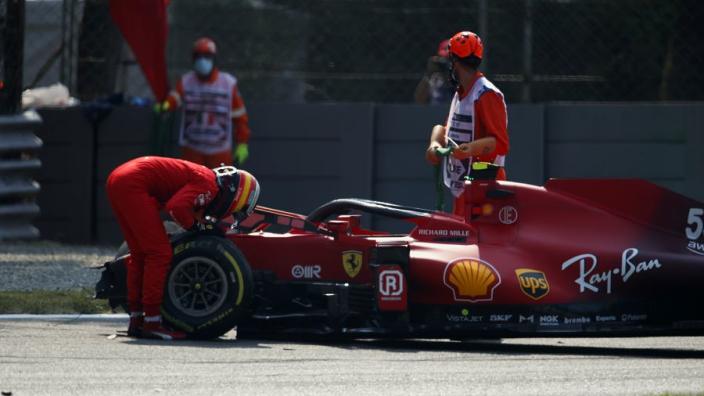 FIA to look into Sainz crash seatbelt stretch