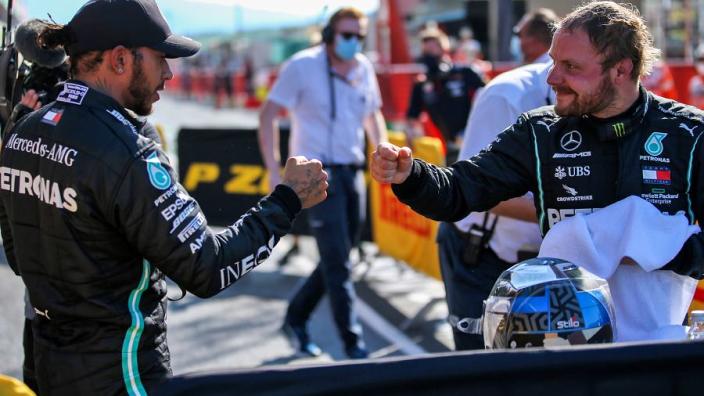 """Hamilton confident of """"bright future"""" for departing Mercedes team-mate Bottas"""