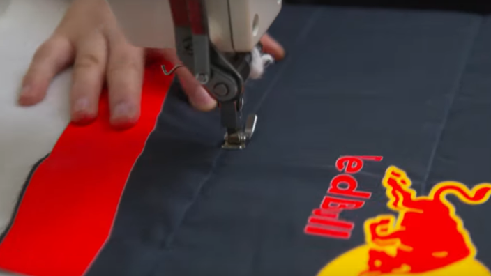 VIDEO: How Max Verstappen's race suit is made