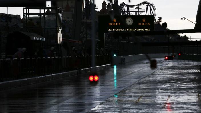 Grote kans op neerslag tijdens raceweekend Rusland