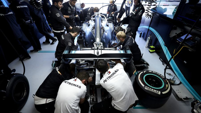 Mercedes confirm first DAS proposal was rejected by the FIA