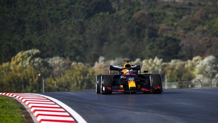 """We need studded tyres for Turkey's F1 """"ice track"""" - Verstappen"""