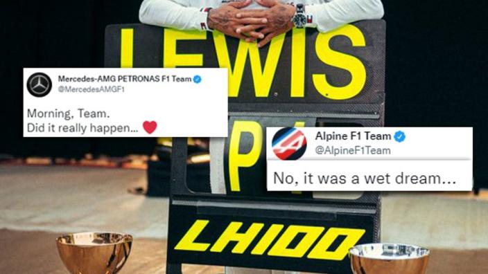 Alpine krijgt lachers op de hand met 'pikante' reactie op Mercedes