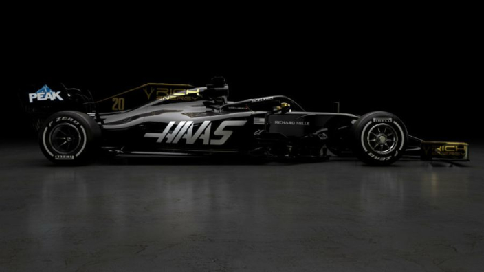 Haas unveil 2019 F1 car with Rich Energy livery