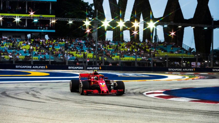 Expect another 'hectic' Singapore race - Raikkonen