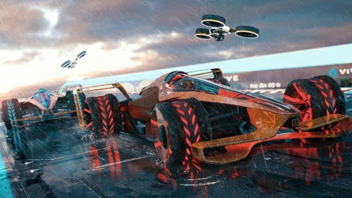 VIDEO: McLaren's eye-popping 2050 F1 concept