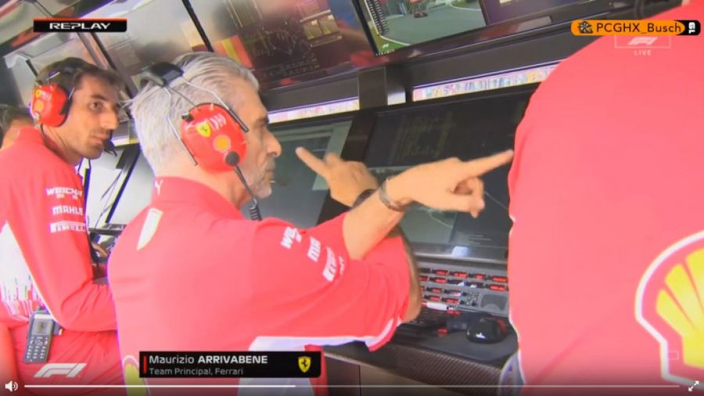 VIDEO: Vettel has to let Raikkonen pass!