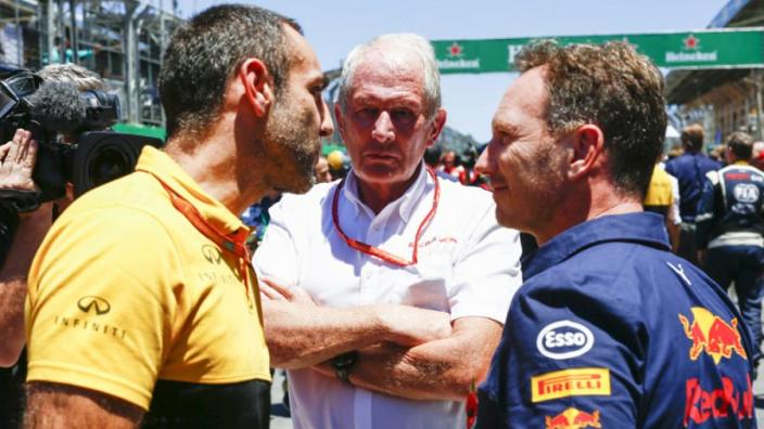"""Renault: """"Gaan kijken hoe we het beter kunnen doen met Red Bull"""""""