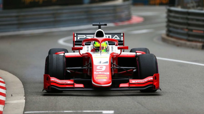 Schumacher crash sends Monaco Formula 2 race into meltdown
