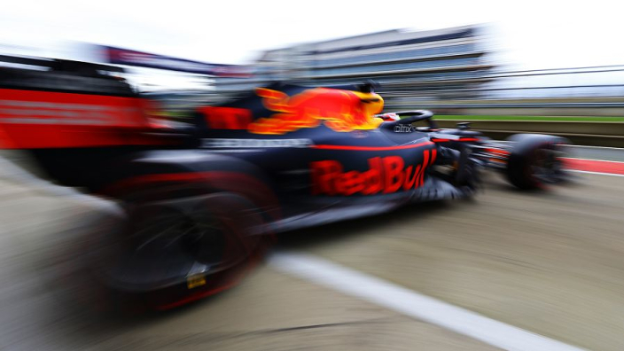 Sergio Pérez maakt officiële debuut bij Red Bull Racing