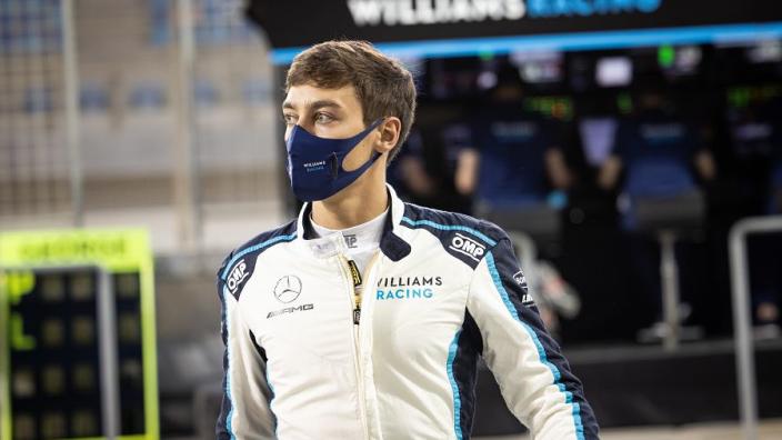 """Palmer analyseert gedrag Russell na Bottas-crash: """"Denk niet dat hij zelf geloofde wat hij zei"""""""