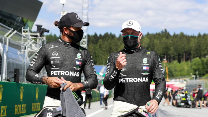 Hamilton clears Bottas of 'slow play' in Austria dying moments