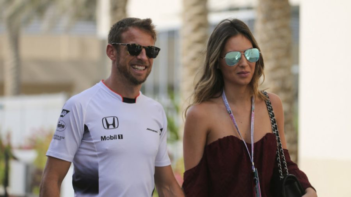 Jenson Button is going to be a father!