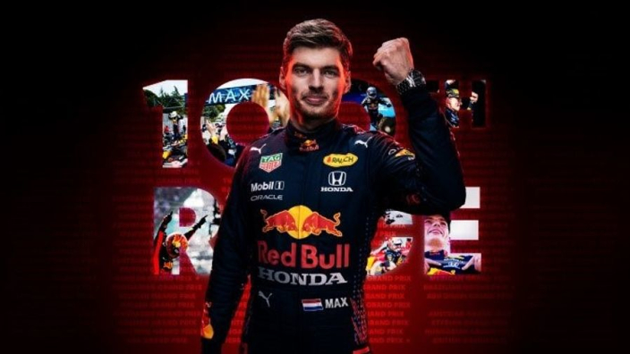 Verstappen 100 not out at Red Bull