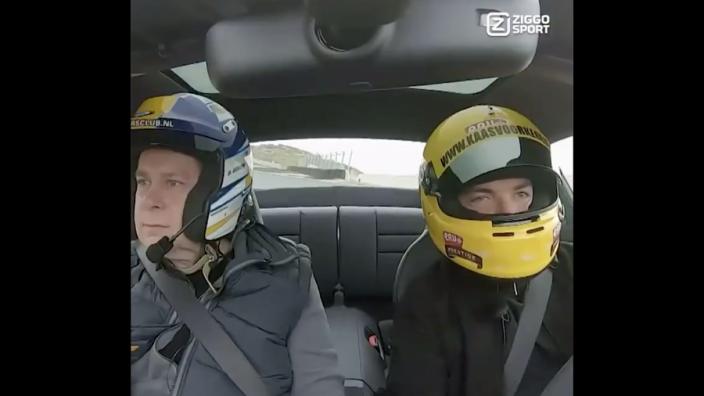 VIDEO: Ziggo Sport met piepende banden over Circuit Zandvoort