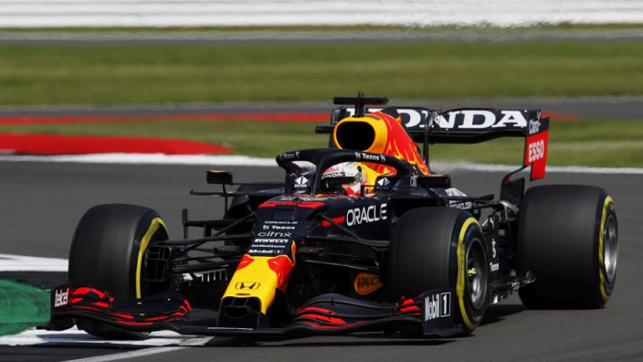 Verstappen test vrijdag met opgelapte Honda-motor na Silverstone-crash