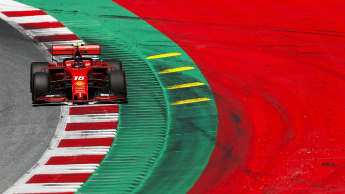 Austrian Grand Prix: Starting grid with penalties applied