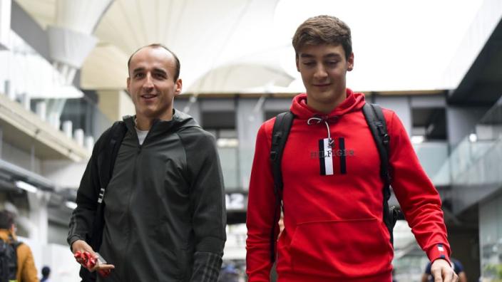 Russell: ''Ik ga grappige en wijze Kubica echt missen als teamgenoot''