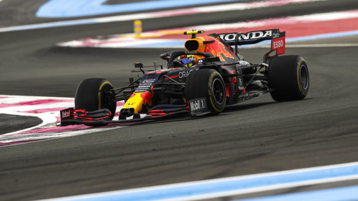 """Perez overcomes """"undriveable"""" Red Bull to land podium in France"""