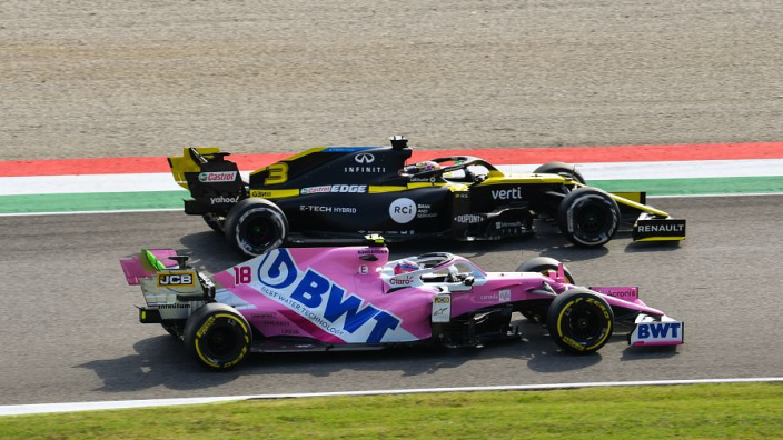 "F1 midfield is ""real racing"" - Green"