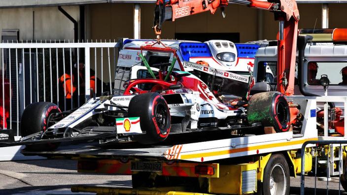 Raikkonen rages at 'sh*t' Monza outing