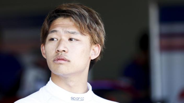 AlphaTauri zet nog een Japanner (21) achter het stuur tijdens Young Driver Test