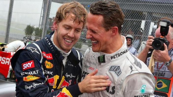 Vettel wishes Schumacher advice could aid Hamilton title fight