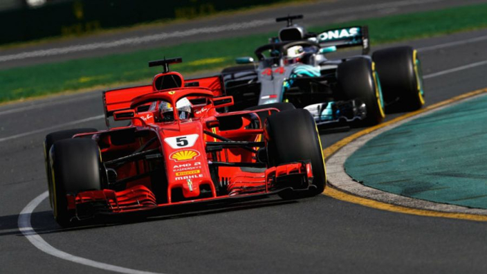 In F1 you fall asleep, wake up and say 'is it Vettel or Hamilton?'