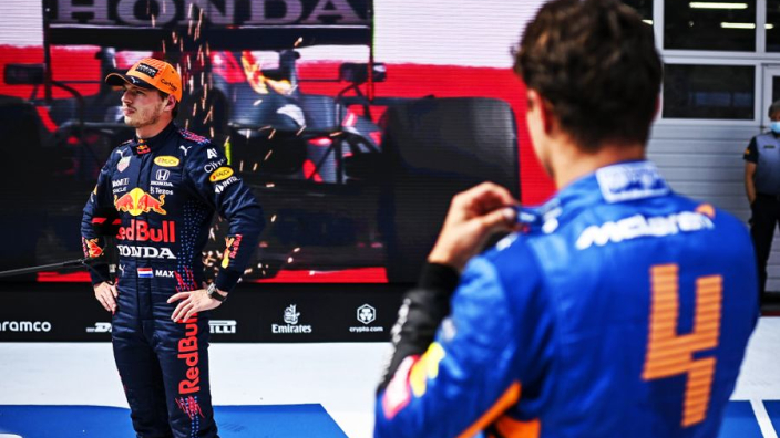 """Norris: """"Grote kans dat Britse GP een Nederlandse winnaar krijgt"""""""