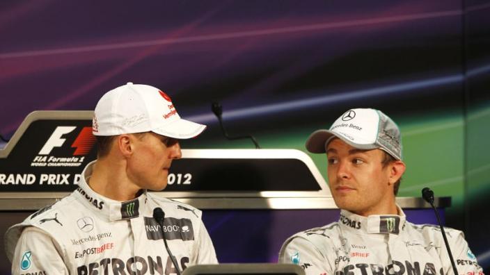 """Fry: """"Nooit mentale spelletjes tussen Rosberg en Schumacher waargenomen"""""""