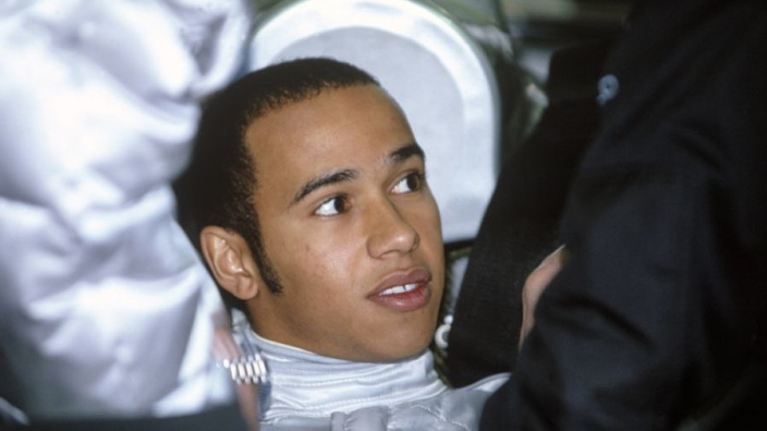Hamilton was 'special' when promoted to F1