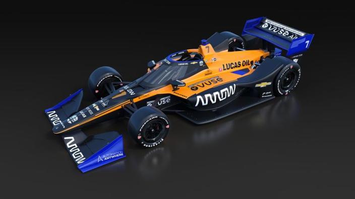 McLaren Indycar in Papaya orrange is revealed