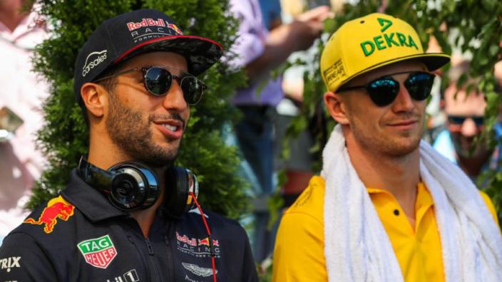 "Hülkenberg: ""Ricciardo gaat laten zien op welk niveau ik rijd"""