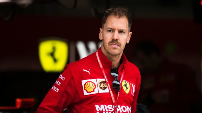 The Vettel moustache is no more!