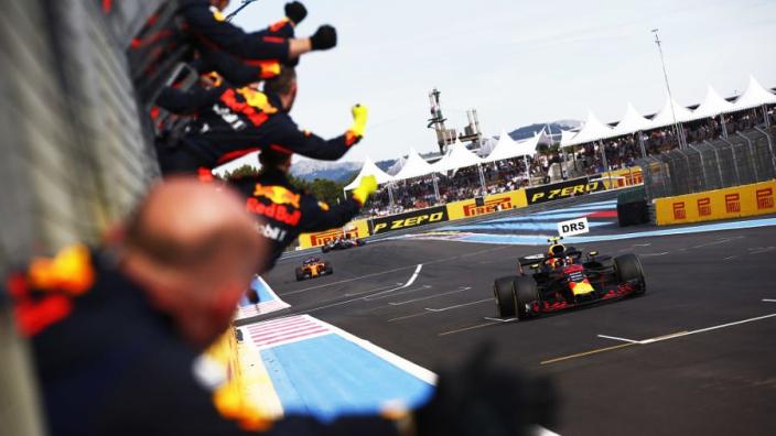 De prestaties van Verstappen en Red Bull Racing in Frankrijk tot nu toe
