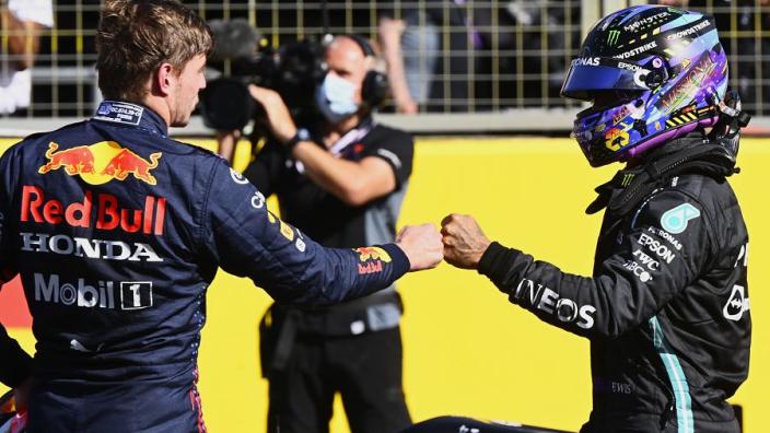"""Buxton concludeert: """"Het vriendschappelijke tussen Verstappen en Hamilton is voorbij"""""""