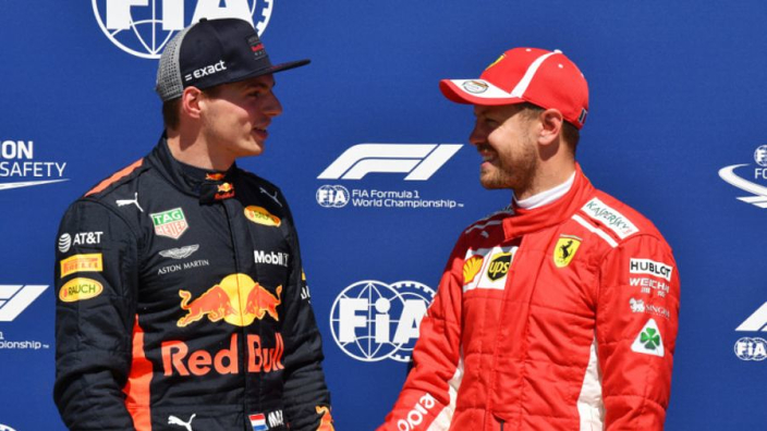 Verstappen won't listen to Vettel advice