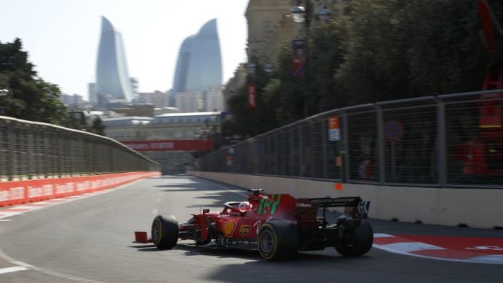 """Leclerc surprised """"sh*t lap"""" secured Baku pole"""