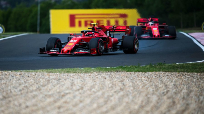 Vettel and Leclerc disagree over Ferrari's Hungary chances
