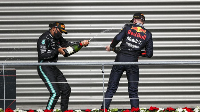 """We're just too slow"" to win F1 title this season - Verstappen"