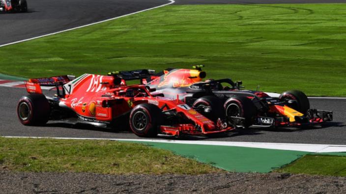 Doornbos: 'Räikkönen en Vettel zaten beiden fout in duel met Verstappen'