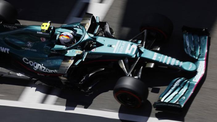 Vettel buoyed by new Aston Martin parts for Spanish GP