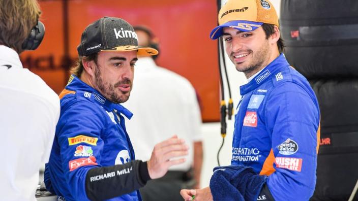 Sainz: 'Ik sta niet in de schaduw van Fernando Alonso'