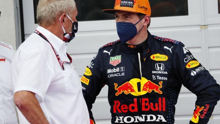 Marko dik tevreden met P3 voor Verstappen: 'Waren bang dat McLaren voor ons zou staan'