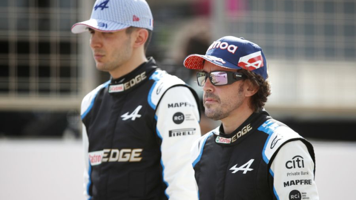 """Alonso 'giving 100%' but still not at """"very impressive"""" Ocon level"""