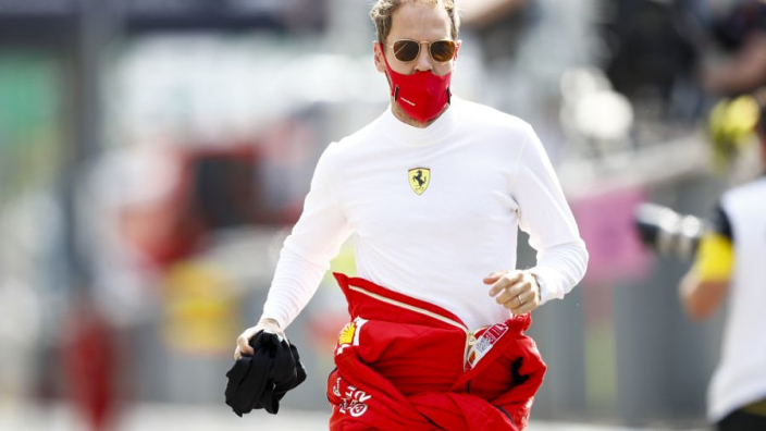 Departing Vettel determined to end Ferrari 'love story with dignity'