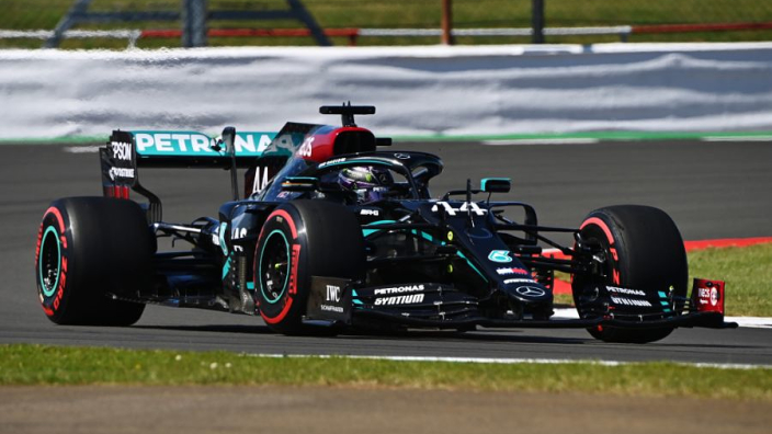 Mercedes worryingly crush their rivals in Silverstone heat