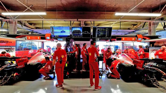 Ferrari aim to catch Mercedes with Singapore upgrades
