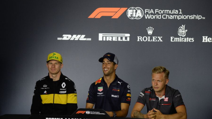 Magnussen on Hulkenberg relationship: We are not friends